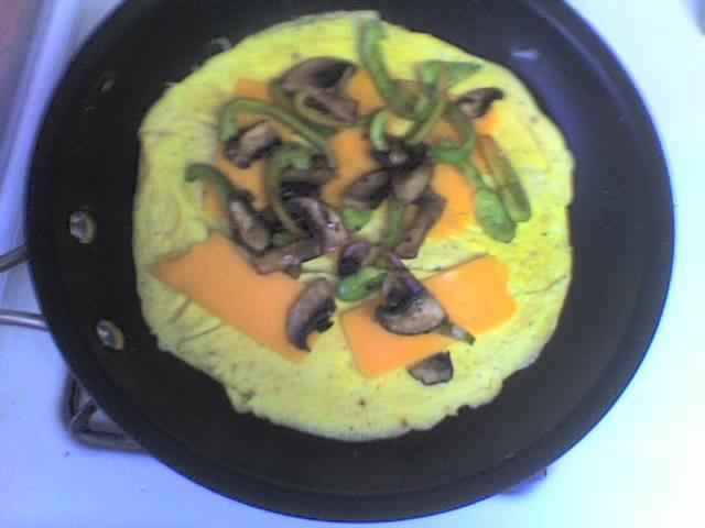 Duck egg omelet-3